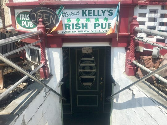 Michael Kelly's Irish Pub is a small, homey basement