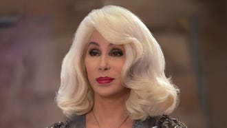 """Ruby (Cher) knows how to liven up a party in """"Mamma Mia! Here We Go Again."""""""