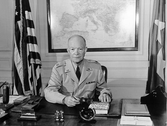 The former Commander in chief of the Allied forces