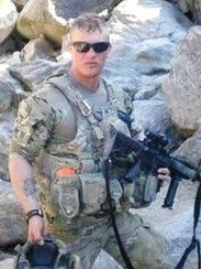 Dillion Naslund served in Afghanistan.