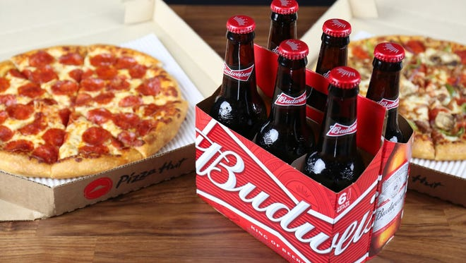 The downtown Phoenix Pizza Hut is the first in the nation to offer beer deliveries to its customers.