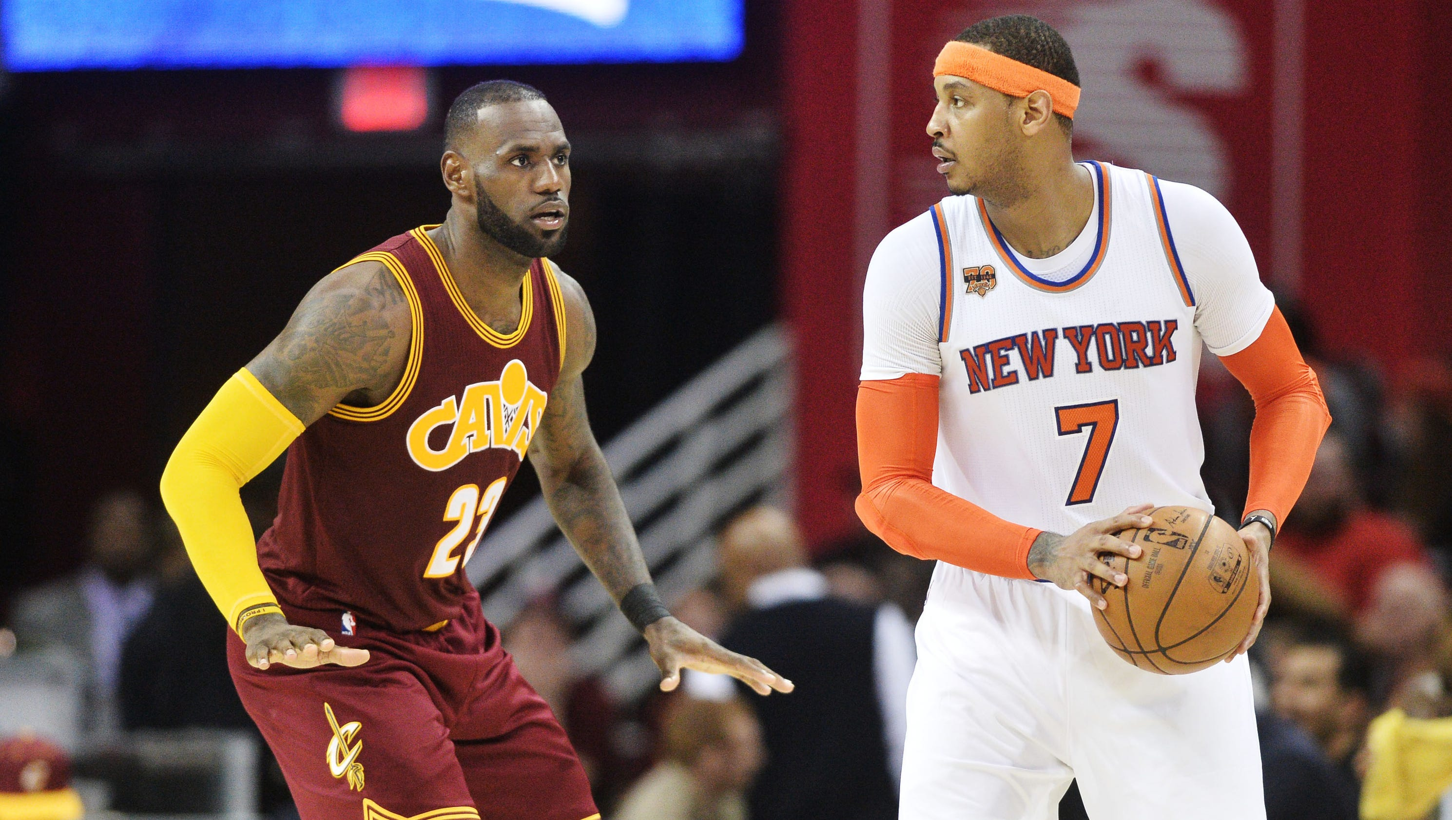 Carmelo Anthony adds Cavaliers, Thunder to list of teams he's willing to get traded to