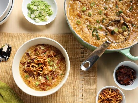 No matter how you dress it, congee is comfort food