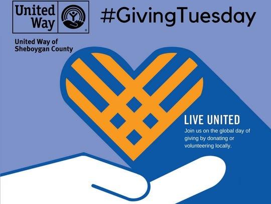 United Way of Sheboygan County Giving Tuesday logo