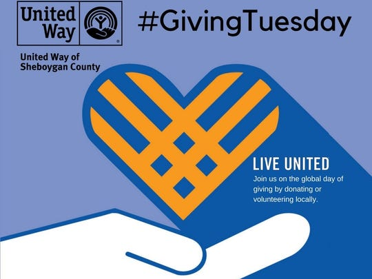 United Way of Sheboygan County Giving Tuesday logo