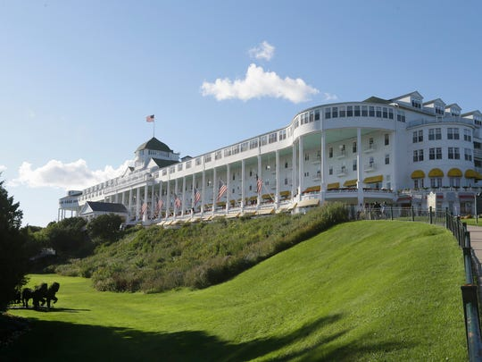 View of the Grand Hotel, site of the 2016 Detroit Regional Chamber Mackinac Policy Conference.