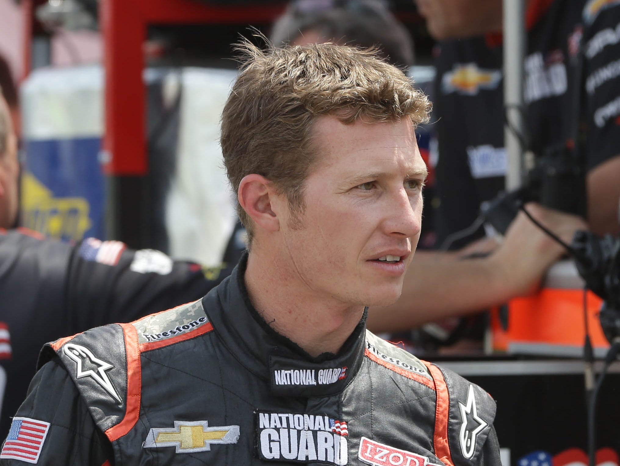 IndyCar driver Ryan Briscoe is a potential replacement for James Hinchcliffe.