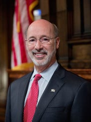 Incumbent Gov. Tom Wolf's campaign reported $11 in