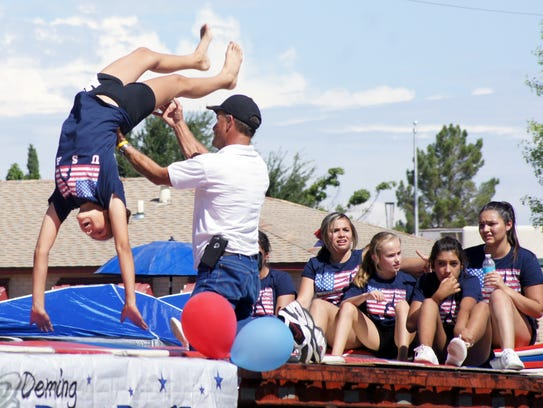 Deming Dust Devils Gymnastics makes an annual appearance