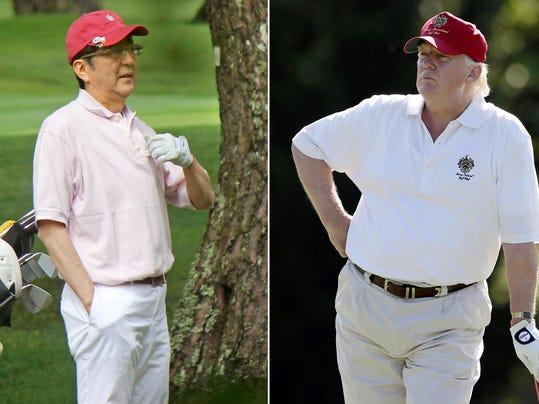 Donald Trump,Shinzo Abe