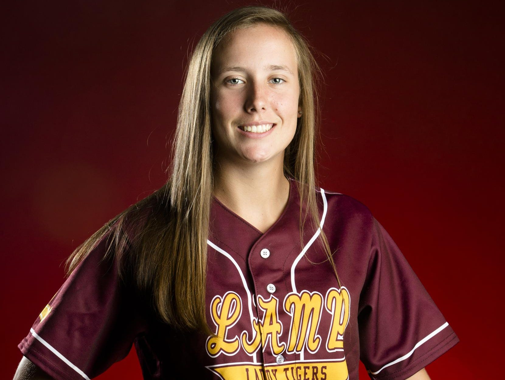 All Metro 1A-4A Softball player Abby Norris of LAMP.