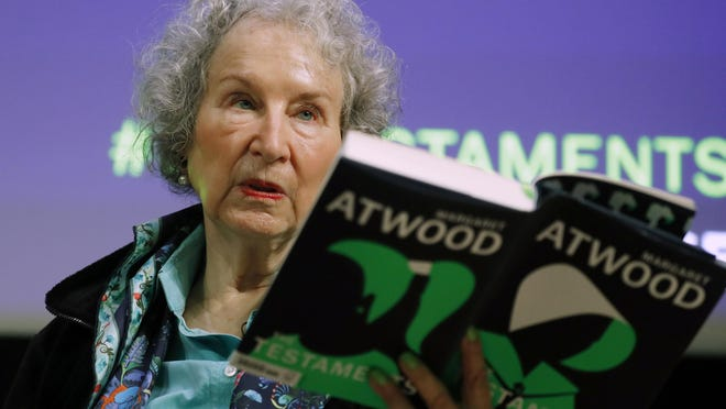 "Canadian author Margaret Atwood, whose sweeping body of work includes ""The Handmaid's Tale"" depicting a nightmarish future for the United States, is this year's winner of a Dayton Literary Peace Prize lifetime achievement award."