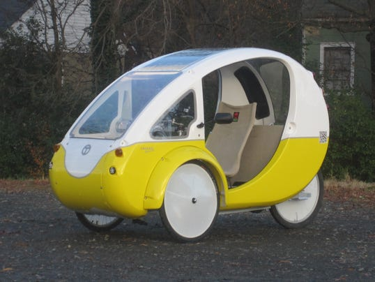 Ride An Elf Bike Car To Work And Skip The Shower