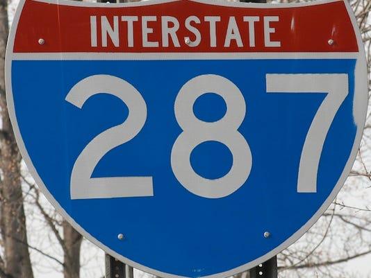LH Roads: I-287 sign
