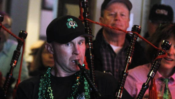 The Salem Professional Firefighters Pipes and Drums will be performing at downtown venues on St. Patrick's Day.