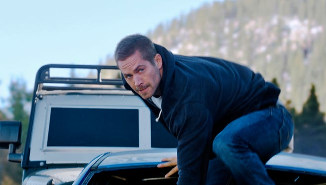 Paul Walker makes his move in 'Furious 7.'