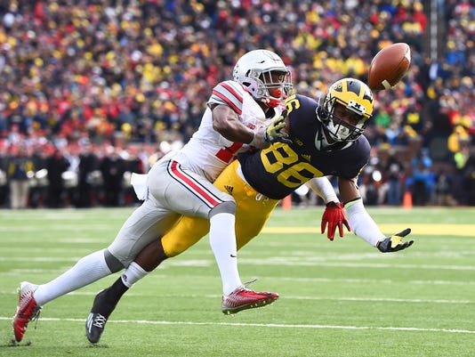 NCAA Football: Ohio State at Michigan