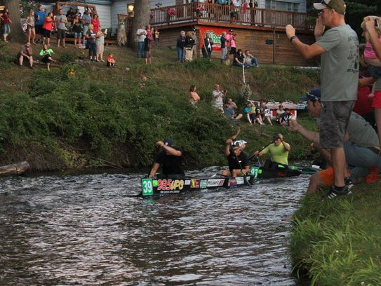 2016 AuSable River Canoe Marathon