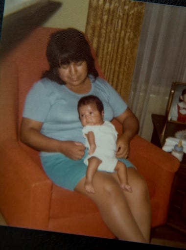 Julia Solano (holding a young David) made herself an expert on arthrogryposis, reading everything she could find.