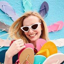 Shopping on a shoestring budget? Old Navy's $1 flip flop sale is set