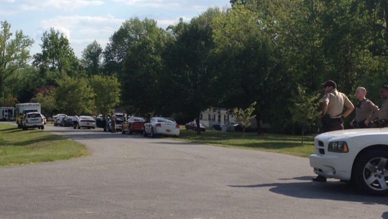 Multiple vehicles on scene on Arborwood Drive in McCleansville