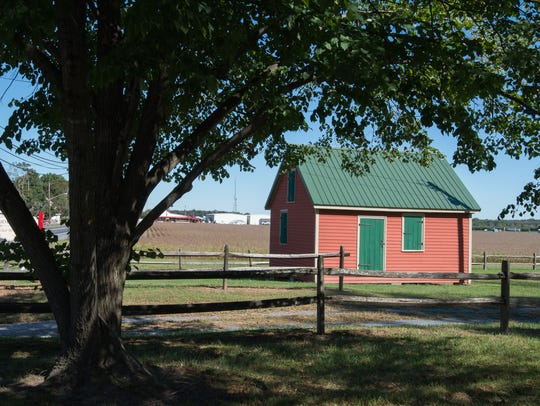 The Sudler House property includes a smokehouse, a