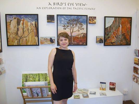 Salem artist Rebekah Risgby