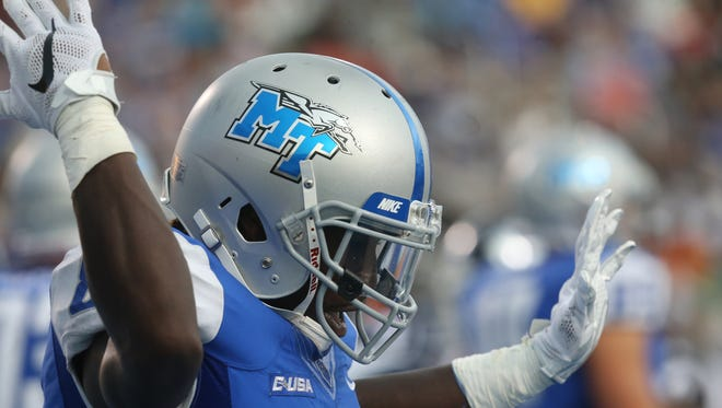 See Blue Raiders take on Vanderbilt on Oct. 3 for homecoming. Get your tickets now.