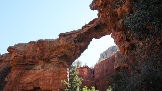 Devil's Bridge is Sedona's largest sandstone arch.