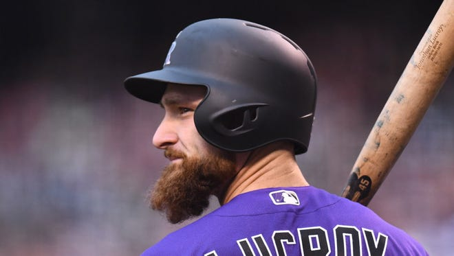 Catcher Jonathan Lucroy has found a new home in Colorado.