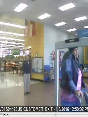 City police are seeking a woman suspected of credit card fraud.