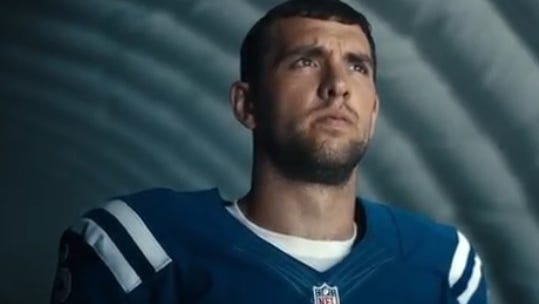 Colts QB Andrew Luck seems perfectly fitting to pitch financial products.