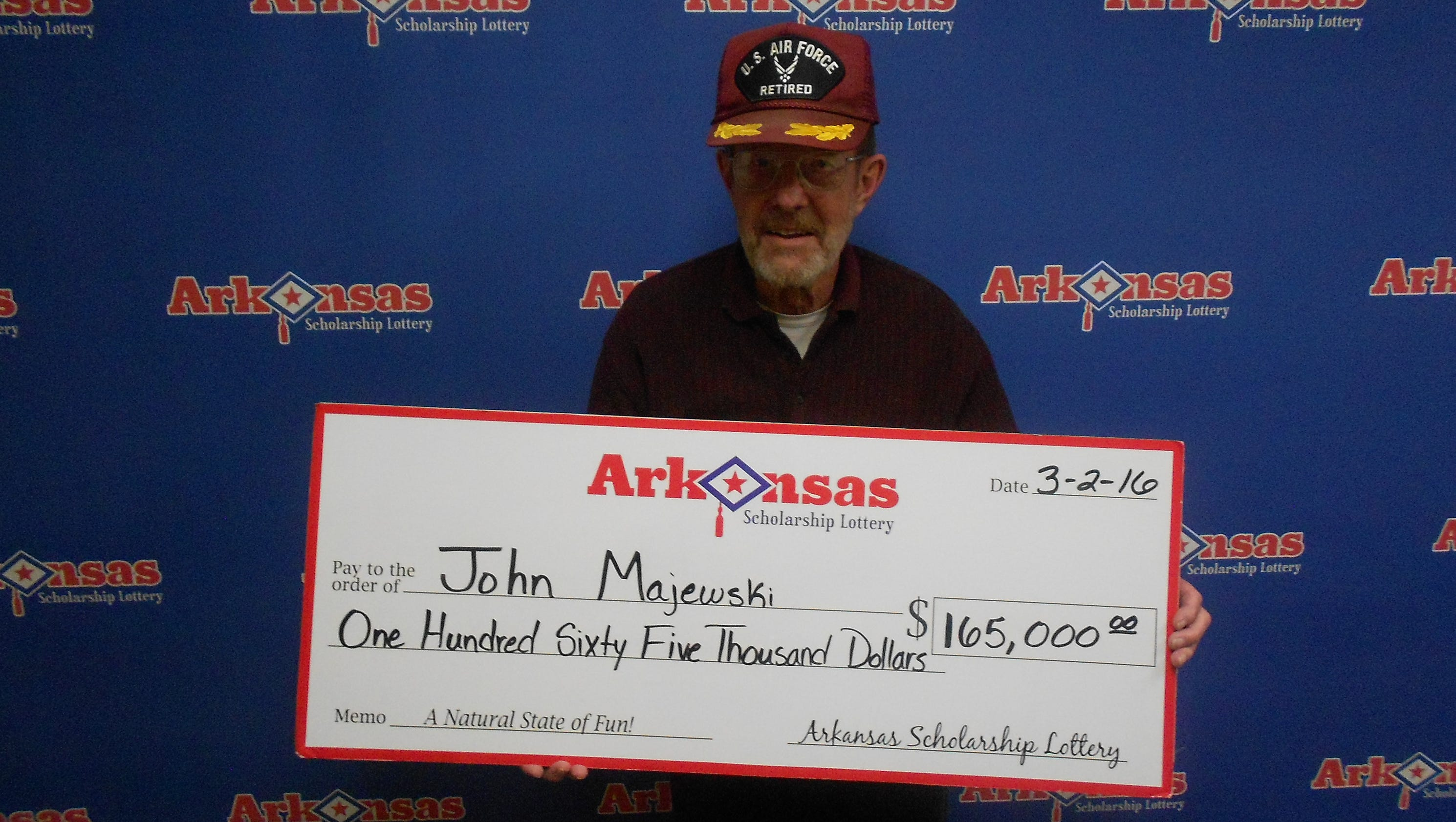 Arkansas lottery natural state jackpot results