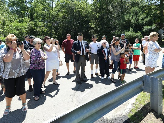 American Legion Post 344 will dedicate a bridge near