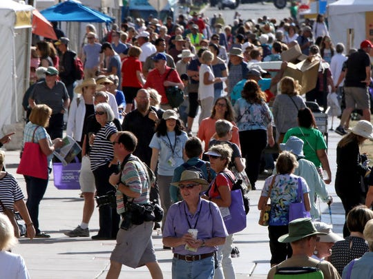 More than 500 authors in all genres will be on hand to greet visitors and sign books at the Tucson Festival of Books.