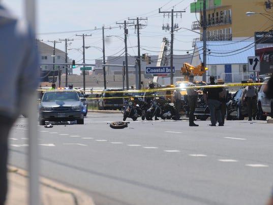 Man Dead After Ocean City Motorcycle Crash