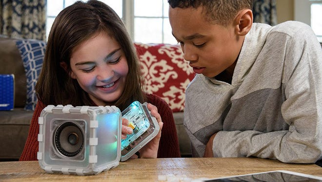 BOSEbuild is an all-in one kit that will keep your kids' hands and brains busy as they explore how a speaker makes sound.