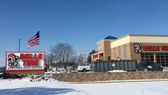 A photo of Belle Tire's location on Bethel Avenue in Muncie. The store will hold a grand opening Feb. 17.