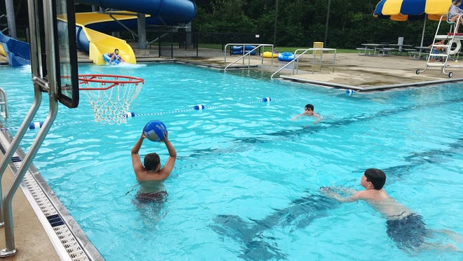 The Clyde Aquatic Center is open for the summer.