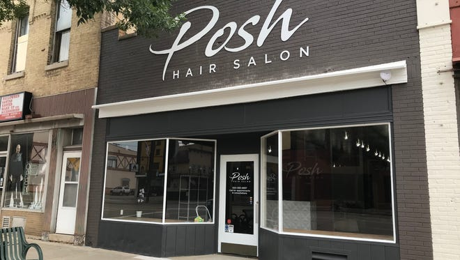 Posh Hair Salon in downtown Appleton.