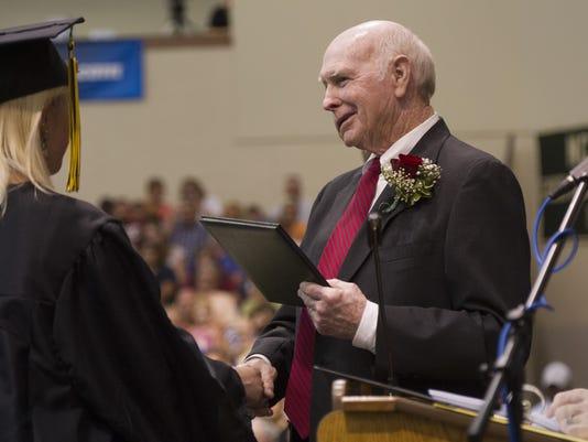 Buffalo Gap High School graduation