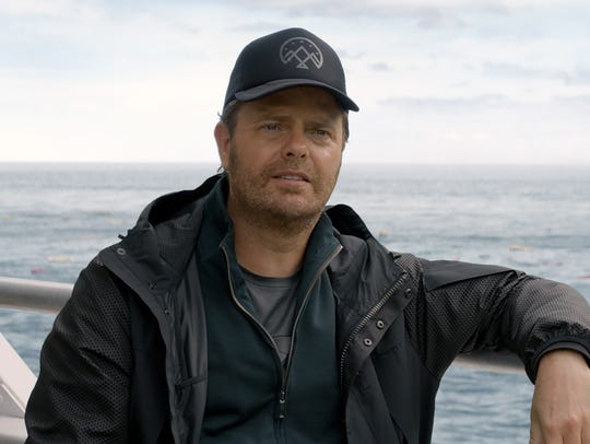 "Rainn Wilson plays Morris in ""The Meg."""