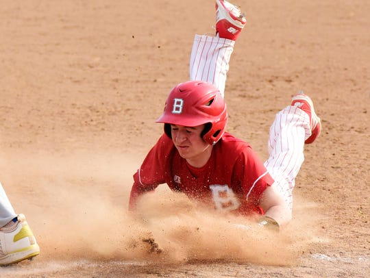 Bellevue's Chase Eisenhauer is in his first season for Post 83.