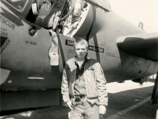 Bob Curry, in the early 1970s, when he was a U.S. Army