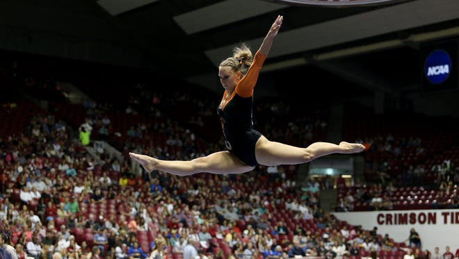 Central York graduate Victoria Heath is a team captain on the Bowling Green gymnastics team. She previously competed with Skyline Gymnastics.