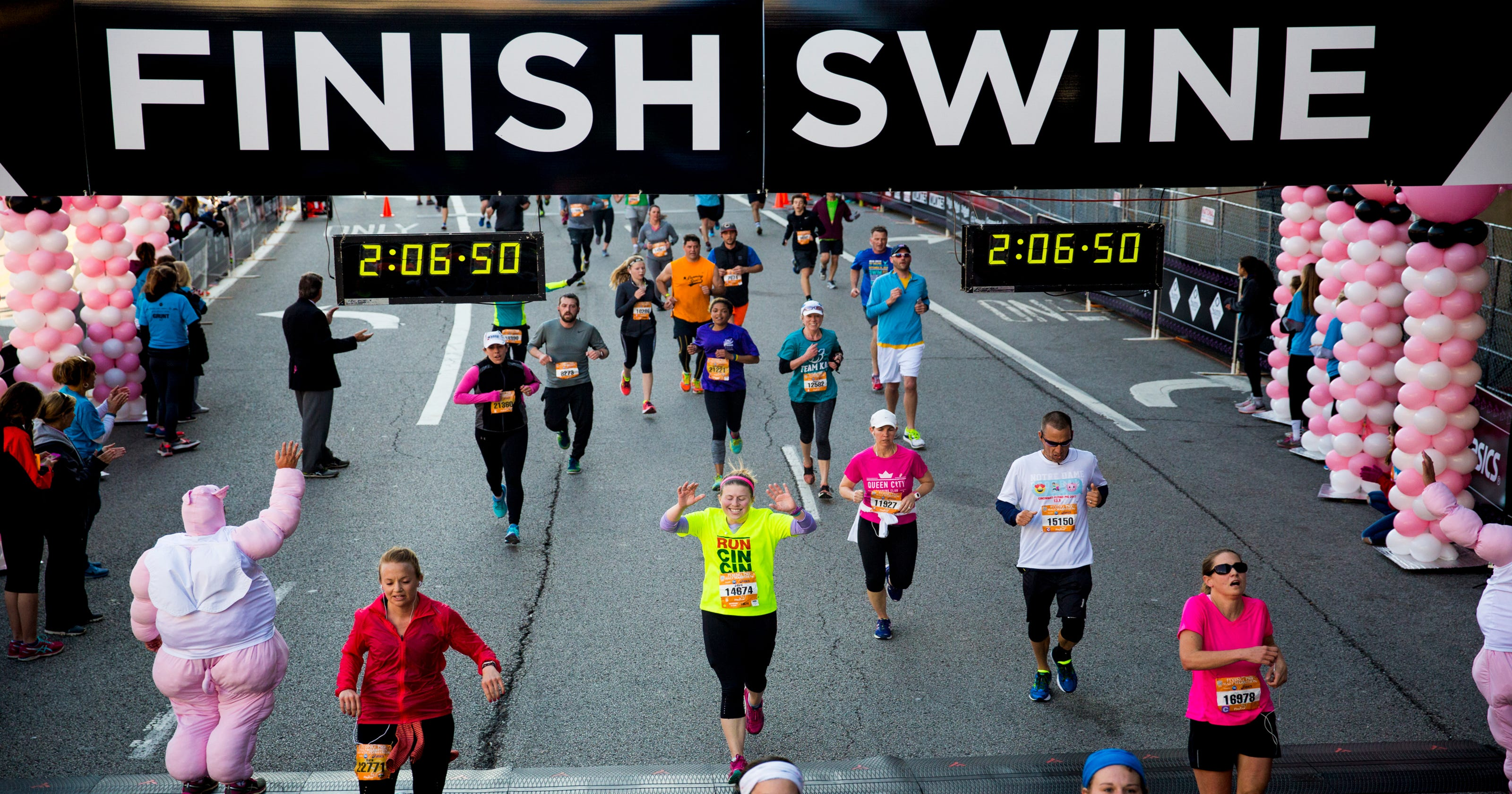 has there been a course change for your flying pig run?