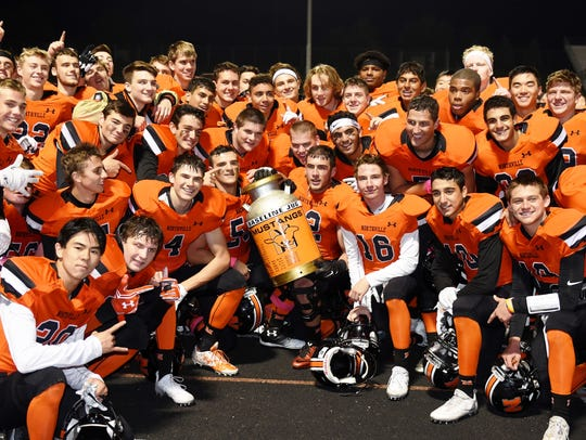 The Northville football team retained the Eight Mile