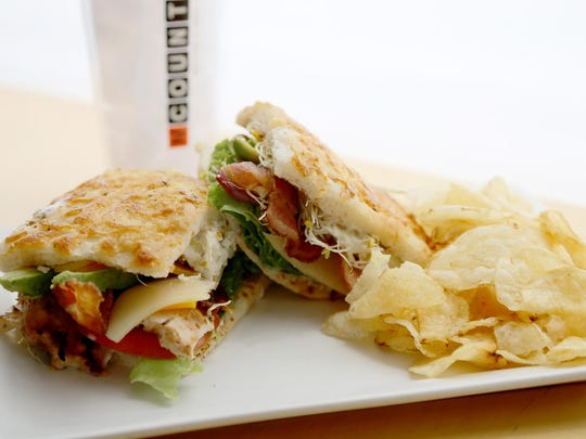 NCounter turns the Cobb salad into a sandwich with