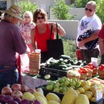 Two farmers truck in freshly harvested vegetables, and food vendors sell relishes, cupcakes, Alaskan seafood, olives, honey, jams, jellies and organic beef. | Details: 10 a.m.-1 p.m. fourth Saturday of the month. 27980 N. Trilogy Blvd., Peoria. azfarmersmarkets.us.