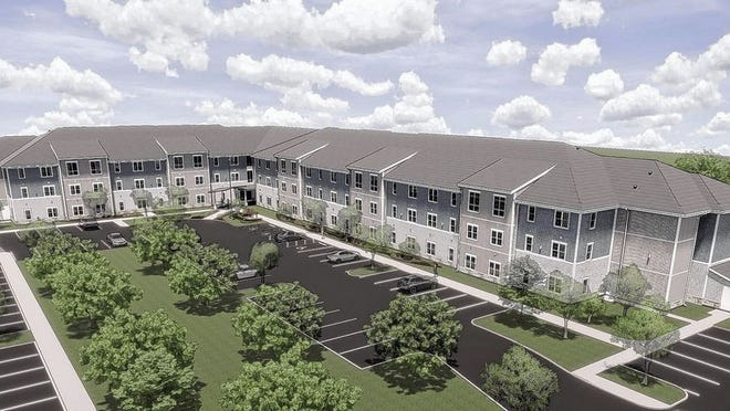 National Church Residencies has broken ground on Northland Gate, a $16 million, a 94-unit senior-housing project by at 5771 Maple Canyon Drive.